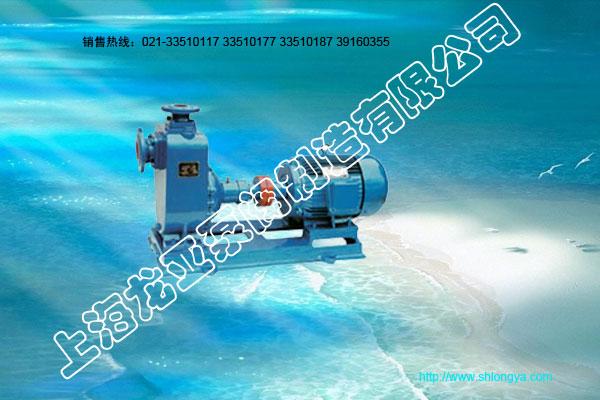 ZW系列无堵塞自吸排污泵